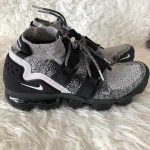 Nike vapormax utility sz 9.5 black white oreo